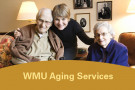 Caregiver with elderly couple.