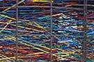Photo of multicolored art.