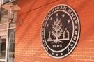 WMU Seal on brick wall