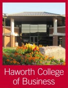 Haworth College of Business link