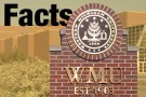 University's name on a brick wall