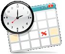 Image of calendar and clock