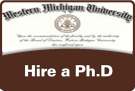 WMU diploma - Hire a Ph.D.