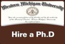 WMU diploma - Hire a Ph.D.