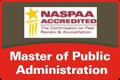 NASPAA accredited