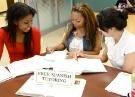 Students practicing Spanish