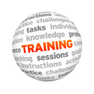Training word cloud.