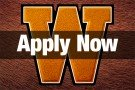 Graphic Image of Apply Now button with W