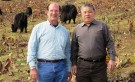 Dr. Gregory Veeck with a research partner in China