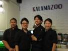 WMU alumni at Kalamazoo Cafe in Malaysia