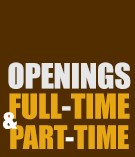 openings full-time and part-time